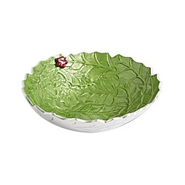 Julia Knight® Holly Sprig 12-Inch Bowl in Mojito