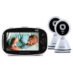 Summer Infant® Baby Pixel® Zoom HD™ 5-Inch LCD Video Monitor with 2 Cameras in White