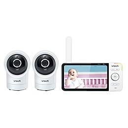 VTech® RM5764-2HD 5-Inch Color LCD Smart Wi-Fi Baby Monitor with 2 Cameras