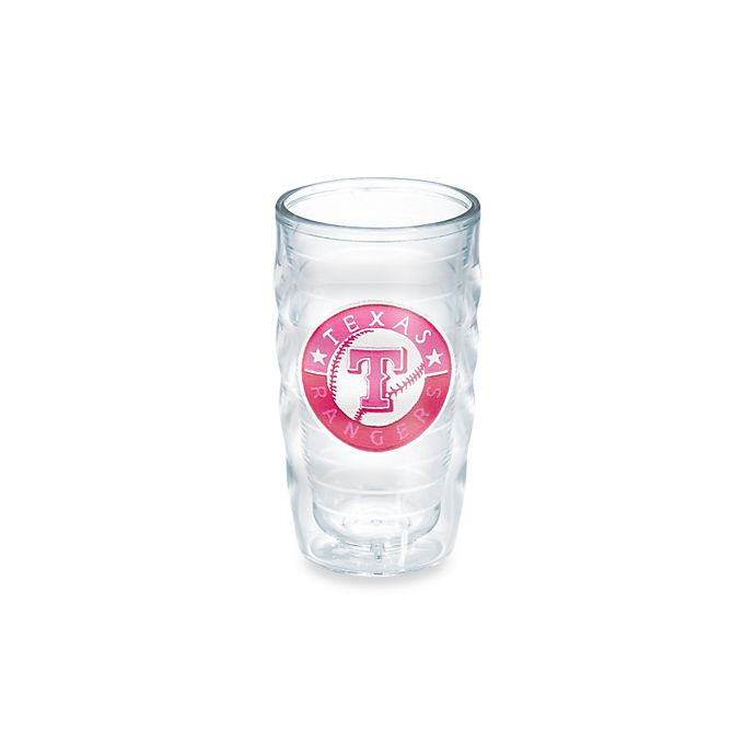 Alternate image 1 for Tervis® MLB Texas Rangers Emblem 10 oz. Wavy Tumbler in Neon Pink