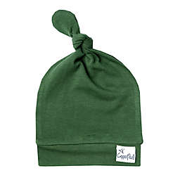 Copper Pearl™ Size 0-4M Alder Top Knot Hat in Green