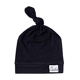 Copper Pearl™ Size 0-4M Midnight Top Knot Hat in Navy