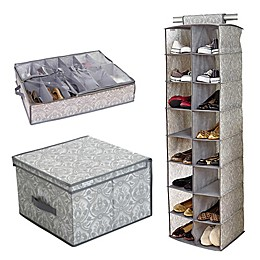 Laura Ashley® Almeida Closet and Room Storage Collection in Grey