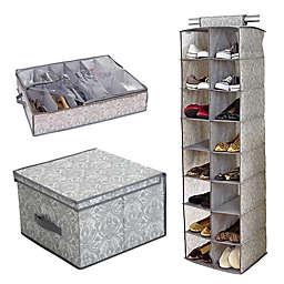 Laura Ashley® Almeida Closet and Room Storage Collection in Grey