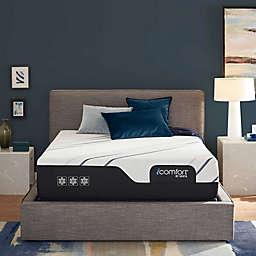 """iComfort® by Serta® CF400 Plush Mattress with 9"""" Base"""
