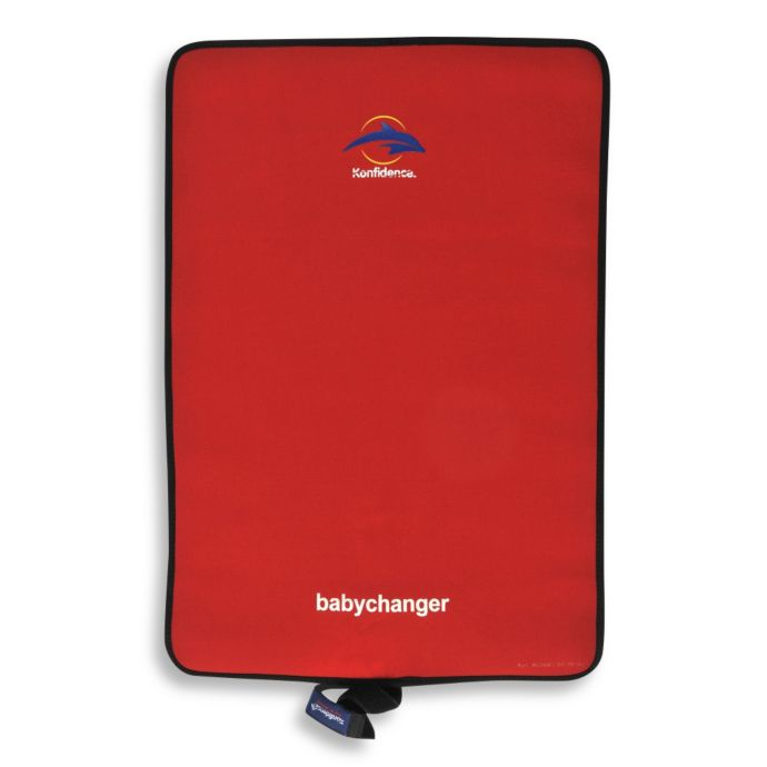 Konfidence Roll Go Babychanger Changing Pad In Red Buybuy Baby