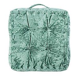 Safavieh Peony Tufted Square Floor Cushion in Green