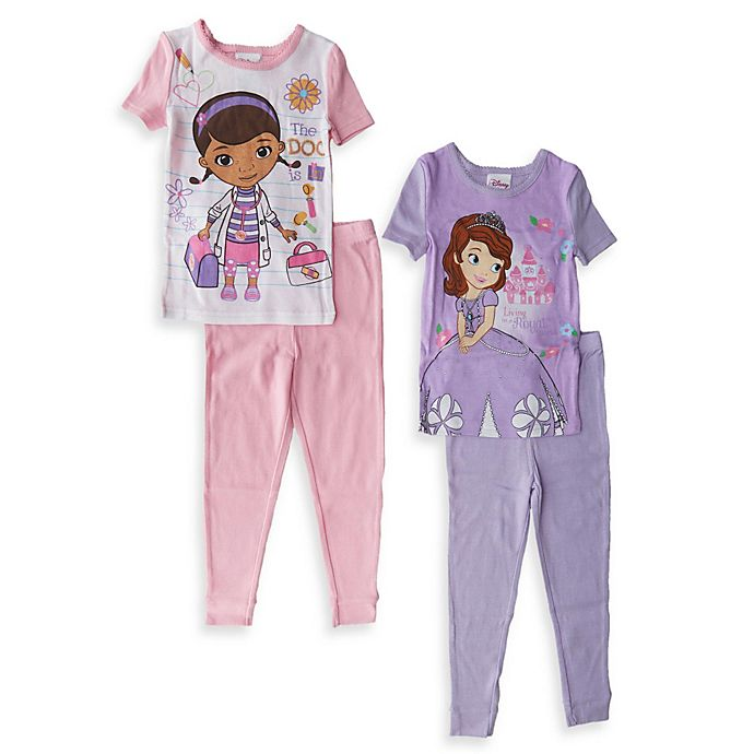 Disney The Doc Is In 4 Piece Doc Mcstuffins Toddler: Doc McStuffins And Sofia The First Size 3T 4-Piece