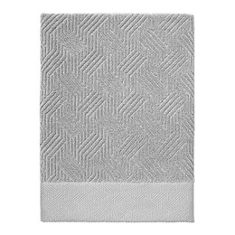 Nowhouse by Jonathan Adler Bleecker Bath Towel in Grey