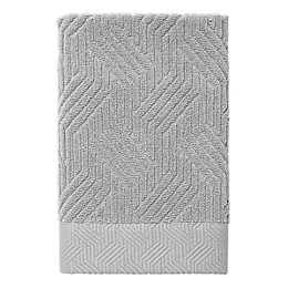 Nowhouse by Jonathan Adler Bleecker Hand Towel in Grey