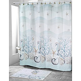 Avanti Coastal Terrazzo Shower Curtain Collection