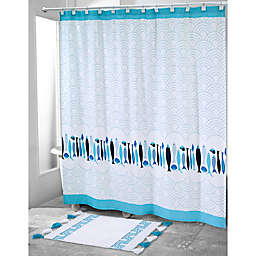 Nowhouse by Jonathan Adler Mercer 72-Inch x 72-Inch Shower Curtain