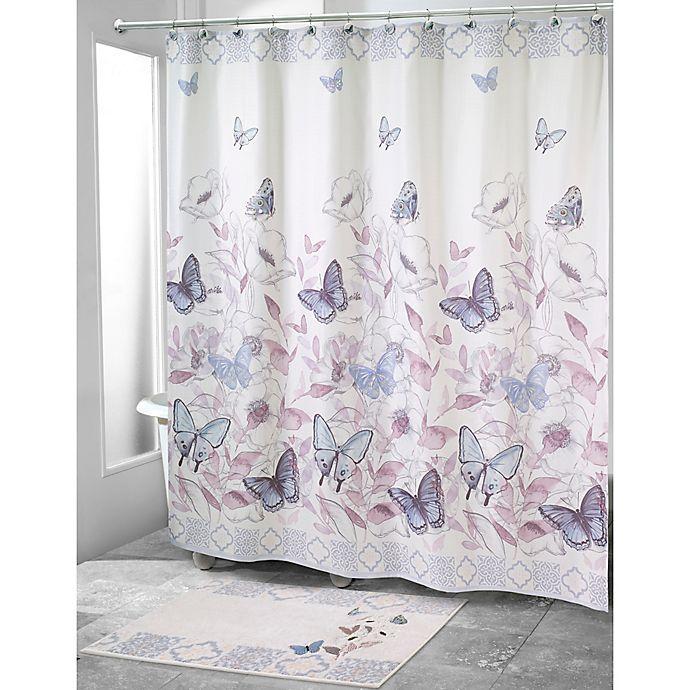 Alternate image 1 for Avanti In the Garden Shower Curtain