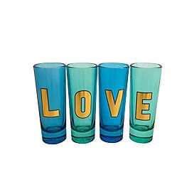 Love Shot Glasses (Set of 4)