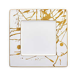 Noritake® Raptures Gold 10-Inch Square Accent Plate