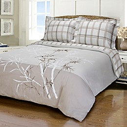 Jasper Haus Alea 3-Piece Reversible King/California King Duvet Cover Set