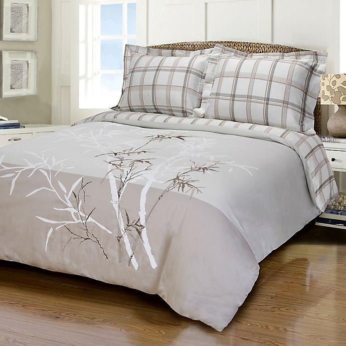 Jasper Haus Alea 3 Piece Reversible King California King Duvet Cover Set Bed Bath Beyond