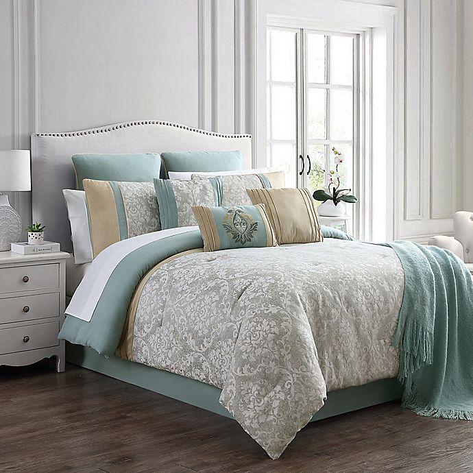 Stella 14 Piece Comforter Set Bed, King Bedding Set Bed Bath And Beyond