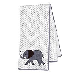 Lambs & Ivy® Linen Safari Baby Blanket in Grey