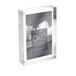 O&O by Olivia & Oliver™ Picture Frame in Clear