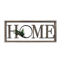 "Prinz ""Home"" 24-Inch x 10-inch Rustic Real Barnwood Wall Sign"