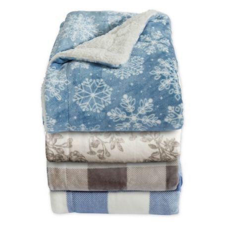 Home Fashion Designs Ceilo Reversible Throw Blanket Bed Bath Beyond