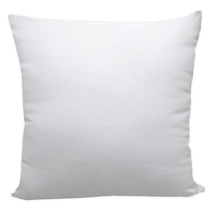Morgan Home Make Your Own Pillow 20 Inch Square Throw Pillow Insert Bed Bath Beyond