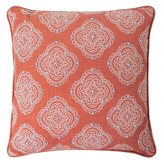 Alternate image 1 for Randi Textured Square Throw Pillow