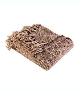 Frazada Berkshire Blanket® de tejido grueso en café nogal