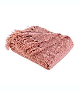 Frazada Berkshire Blanket® de tejido grueso en rosa arcilla