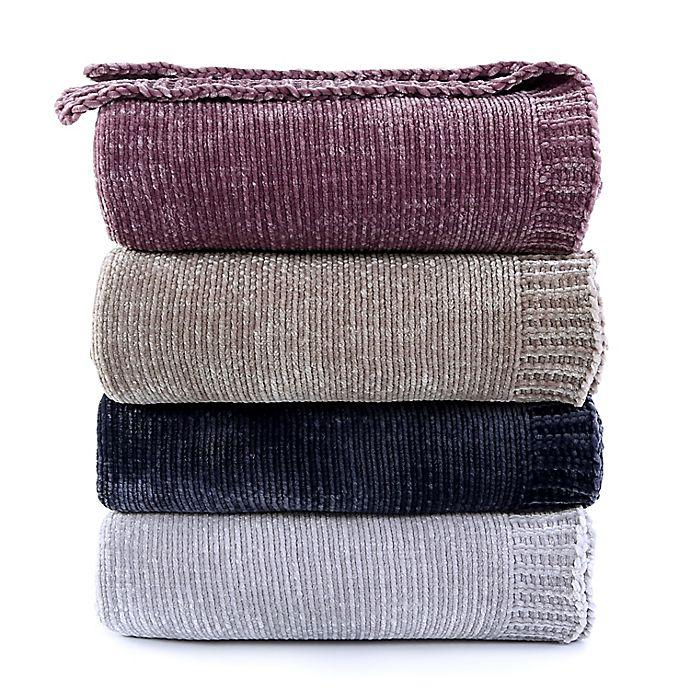 Alternate image 1 for Berkshire Blanket® Solid Chenille Throw Blanket