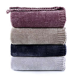 Berkshire Blanket® Solid Chenille Throw Blanket
