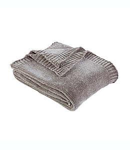 Frazada Berkshire Blanket® lisa de chenilla en gris pardo