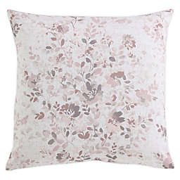 Morgan Home Floral Square Throw Pillow Cover