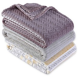 Berkshire Blanket® Ultra Velvetloft Jacquard Throw Blanket