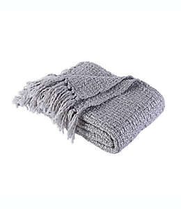 Frazada Berkshire Blanket & Home Co.® de tejido tweed en gris medio