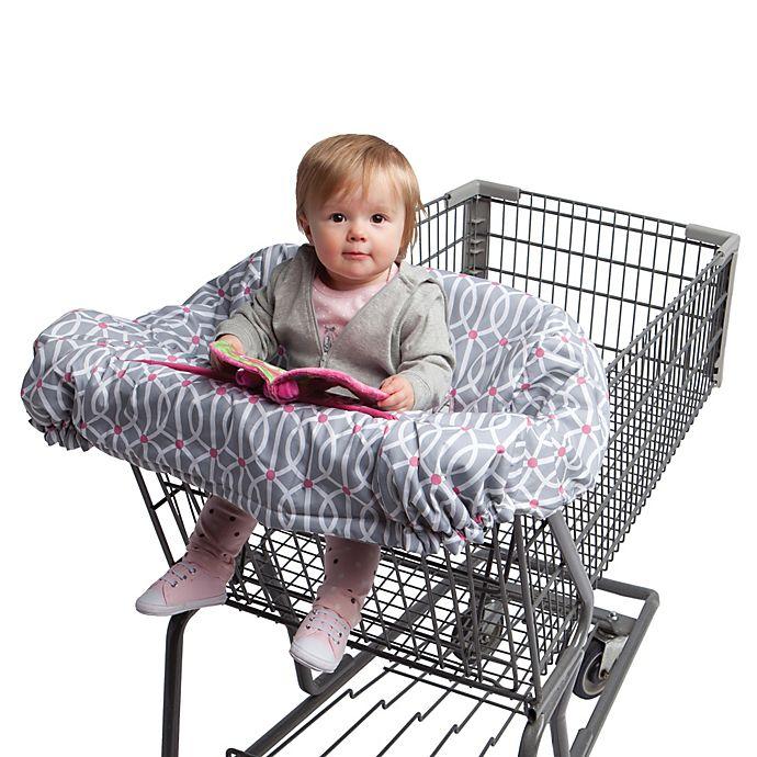 Alternate image 1 for Boppy® Shopping Cart Cover in Park Gate Grey