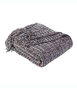 Frazada texturizada Berkshire Blanket & Home Co.® de chenilla en gris carbón
