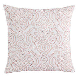 MorganHome Abstract Throw Pillow Cover in Blush