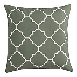 MorganHome Geometric Square Throw Pillow