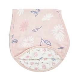 aden + anais® essentials Silky Soft Floral Burpy Bib in Pink
