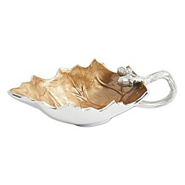 Julia Knight® Luxe Lodge Oak Leaf Sauce Boat in Toffee