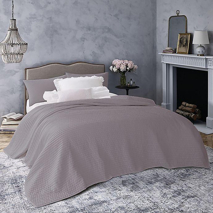 Alternate image 1 for Wamsutta® Vintage Montrose 2-Piece Reversible Twin Quilt Set in Grey