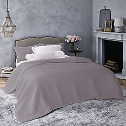 Wamsutta® Vintage Montrose 2-Piece Reversible Twin Quilt Set in Grey