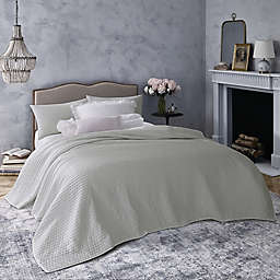 Wamsutta® Vintage Montrose 3-Piece Reversible Full/Queen Quilt Set in Zinc