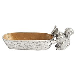 Julia Knight® Luxe Lodge Squirrel Cracker Tray in Toffee