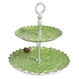 Julia Knight® Holly Sprig 2-Tier Server in Mojito