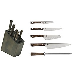 Shun Kanso 6-Piece Knife Block Set