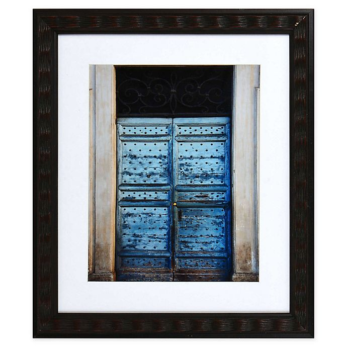 Alternate image 1 for Blue Door 13.8-Inch x 15.8-Inch Framed Wall Art