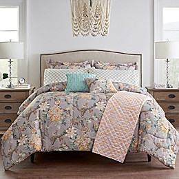 Waverly® Mudan Floral 10-Piece Reversible Comforter Set
